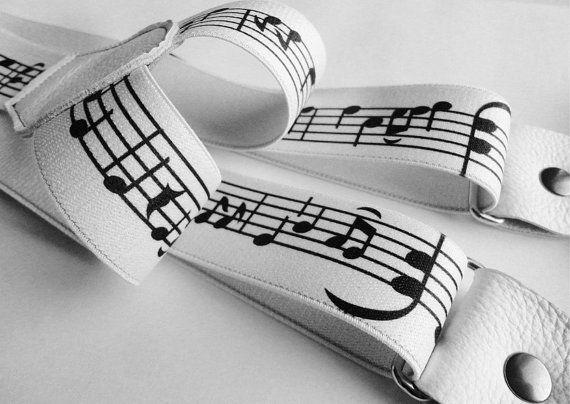 Bretelle unisex spartito musicale vera pelle di SuspendersTime #italiasmartteam #etsy