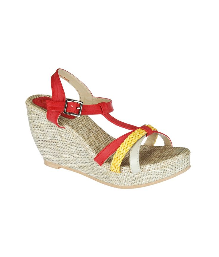 Loved it: Khadim's Cleo Women Red/yellow Strap-on Wedges, http://www.snapdeal.com/product/khadims-cleo-women-redyellow-strapon/1117998448