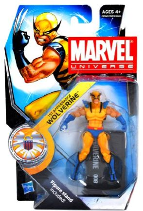 Marvel Universe 3 3/4 Inch Series 13 Action Figure Wolverine First Appearance