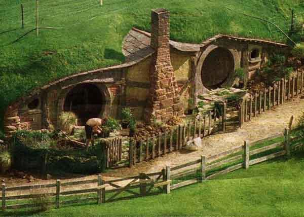 I could probably live in a place that looked like a hobbit house.