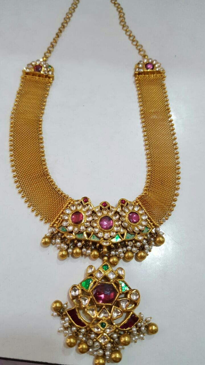 Gold necklace designs with price in rupees jewelry gallery - Latest Collection Of Best Indian Jewellery Designs