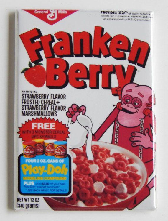 Frankenberry Cereal