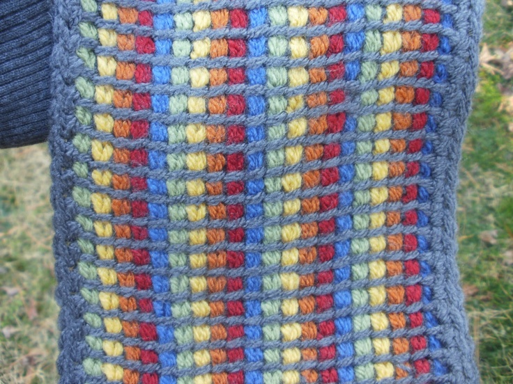 1000 Images About Tunisian Crochet On Pinterest
