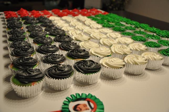Cake Design Uae : UAE National Day cupcake-cake Cupcake-cakes Pinterest ...