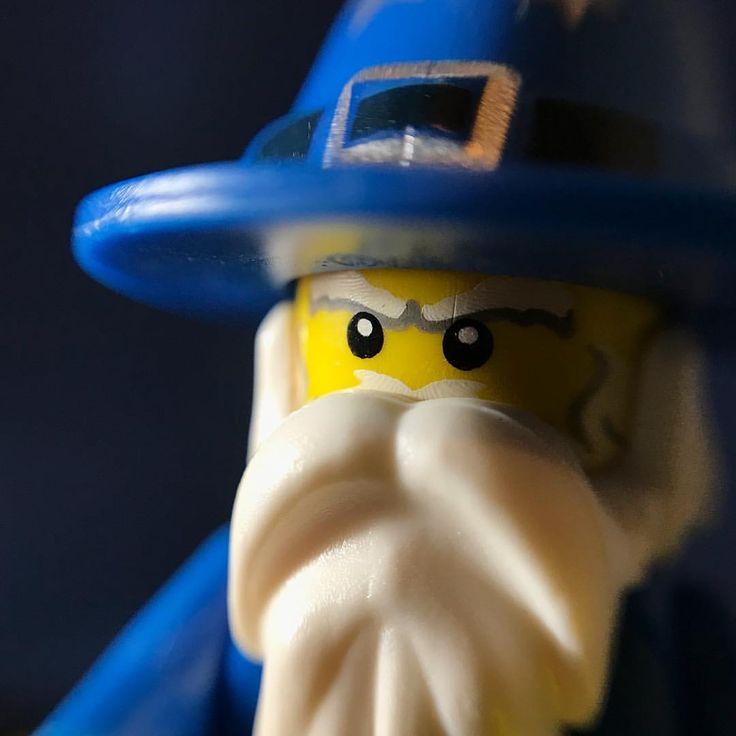 Lego wizard macro portrait by minifiguremacros #minifiguremacros #lego #legominifigures #legophotography #macrophotography