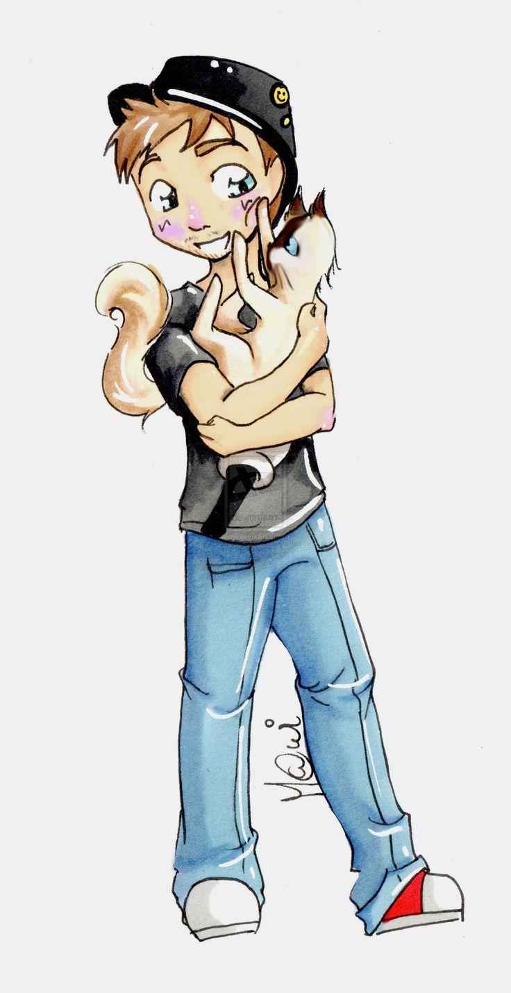 Le Presentateur et son chaton by FiveReasonsToHateMe.deviantart.com on @DeviantArt