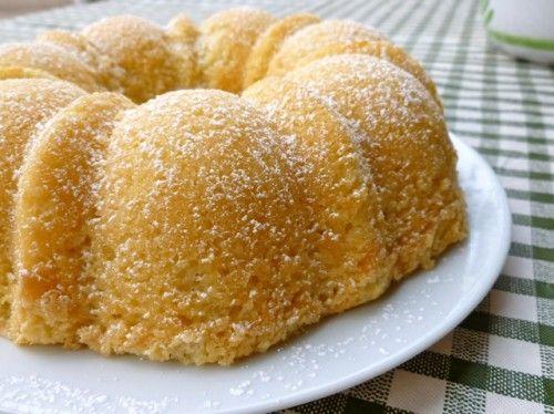 Lemon Coconut Tea Cake - 6 Points Plus per serving