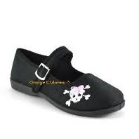 Punk Gothic women's flats, very cool