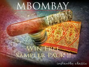 Win #MBombay #Cigar sampler pack. No strings attached! I just did it. Just follow the link {URL}