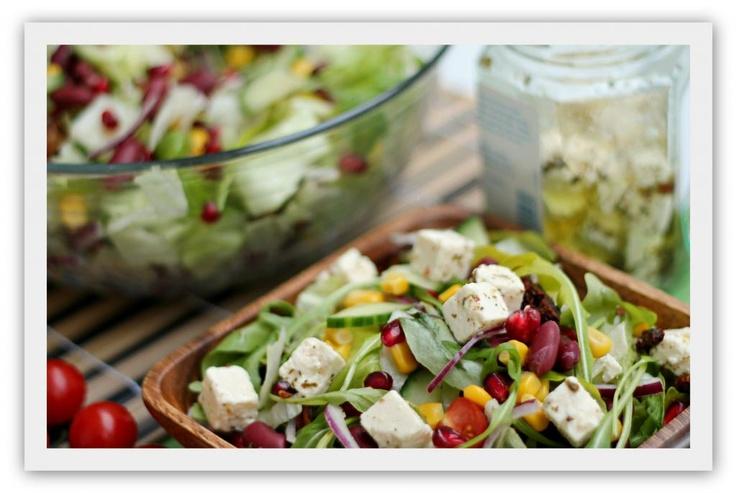 Enkel salat