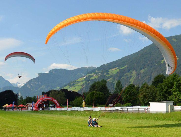 #austria #dream day #mountains #paragliding #tandem jump #zillertal
