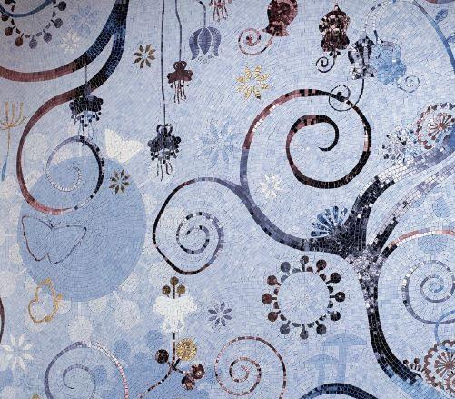 #SICIS #Mosaic #Tile #Orientale #Dolium
