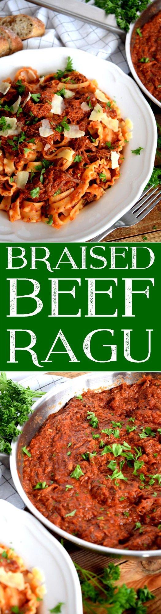 Braised Beef Ragu - Lord Byron's Kitchen