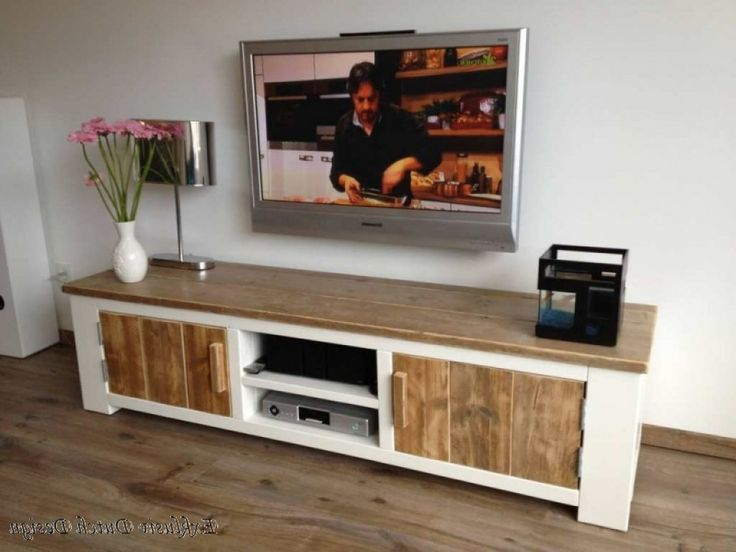 Tvs and modern on pinterest - Tv schrank selber bauen ...