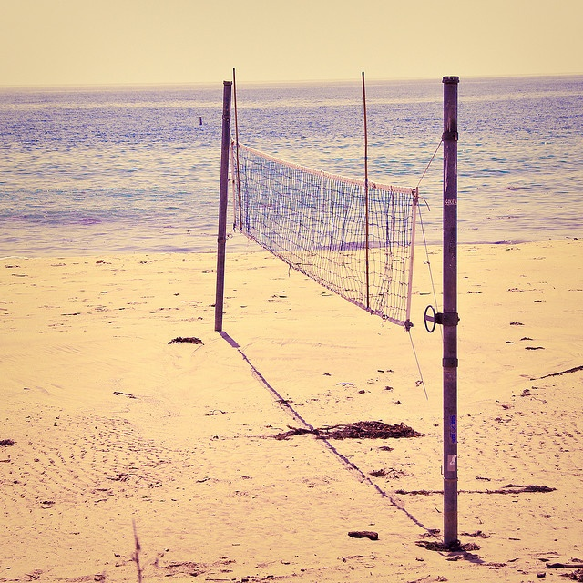 Looking forward to some beach volleyball at The Beaches this summer. Toronto, Ontario
