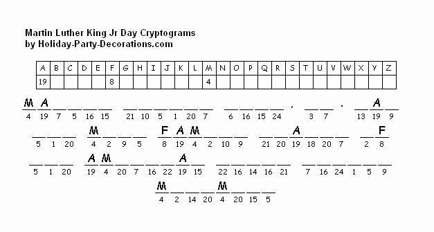 Printable Cryptograms