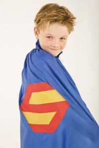 How to Make Your Own Superhero Cape Out of Paper