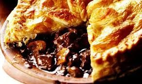 Steak & ale pie, with a rich red wine gravy & a puff pastry top, served with creamy mashed potato and seasonal vegetables. Treat your guests to a classic British dish!