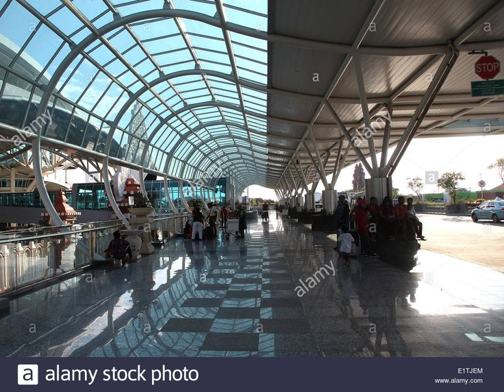 Newly rebuilt Ngurah Rai International Airport, Denpasar, Bali, Indonesia, May 2, 2014.  (CTK Photo/Karel Picha) Stock Photo