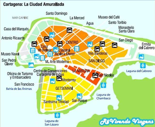RêVivendo La Ciudad Amurallada de Cartagena por fotos