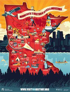 594 best Minnesota images on Pinterest Minnesota Maps and Animal