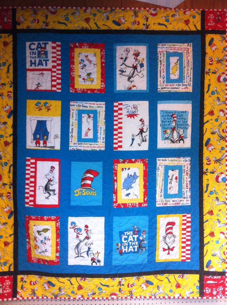 Classroom Quilt Ideas ~ Best dr seuss quilts images on pinterest quilt block