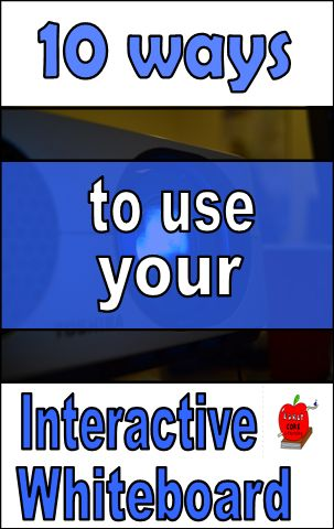 Do you have an interactive whiteboard in your classroom? Then, these tips are perfect for you! Learn new ways to use your interactive whiteboard.