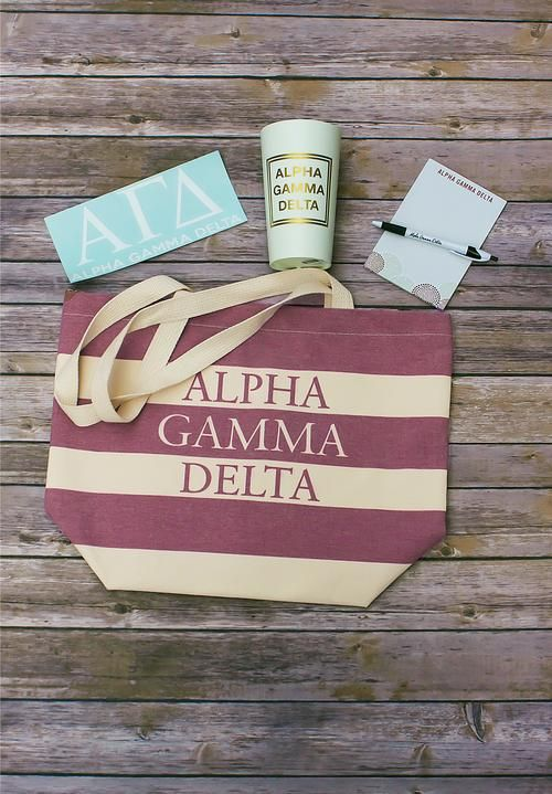 Check out the Alpha Gam Boutiques new Bid Day packs!