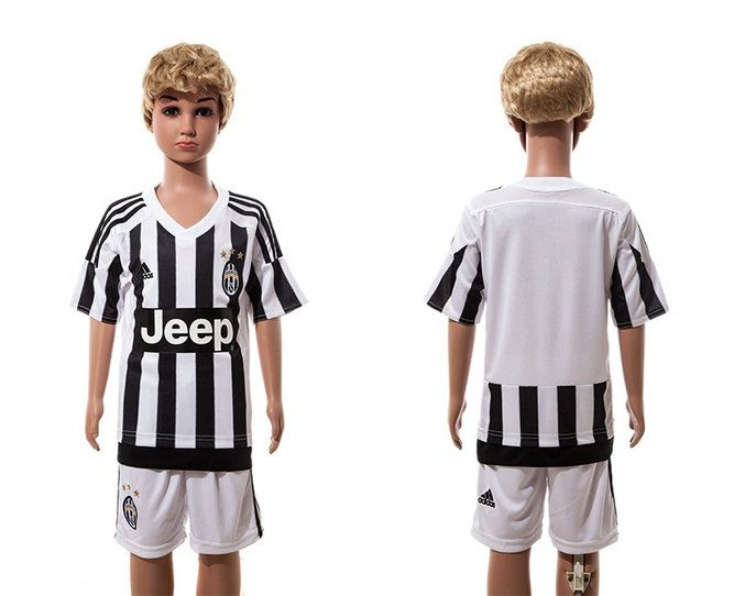 2016 Kid Juventus Soccer Jerseys Uniform