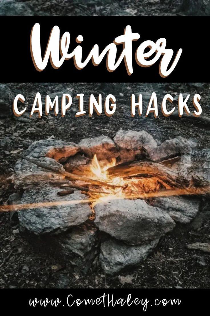 Winter Camping Hacks in 2020   Winter camping, Camping ...