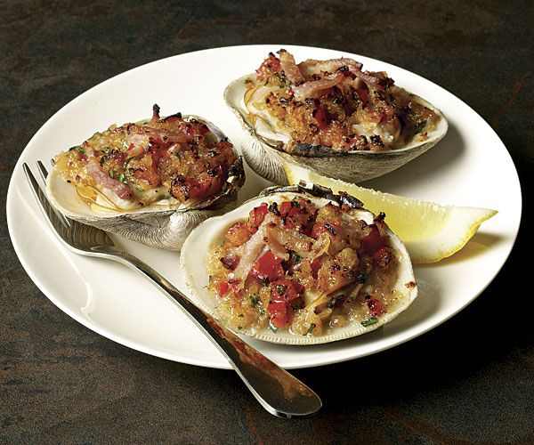 I love Clams Casino. The best I've had comes from The Williamsburg Inn, in White Marsh Maryland