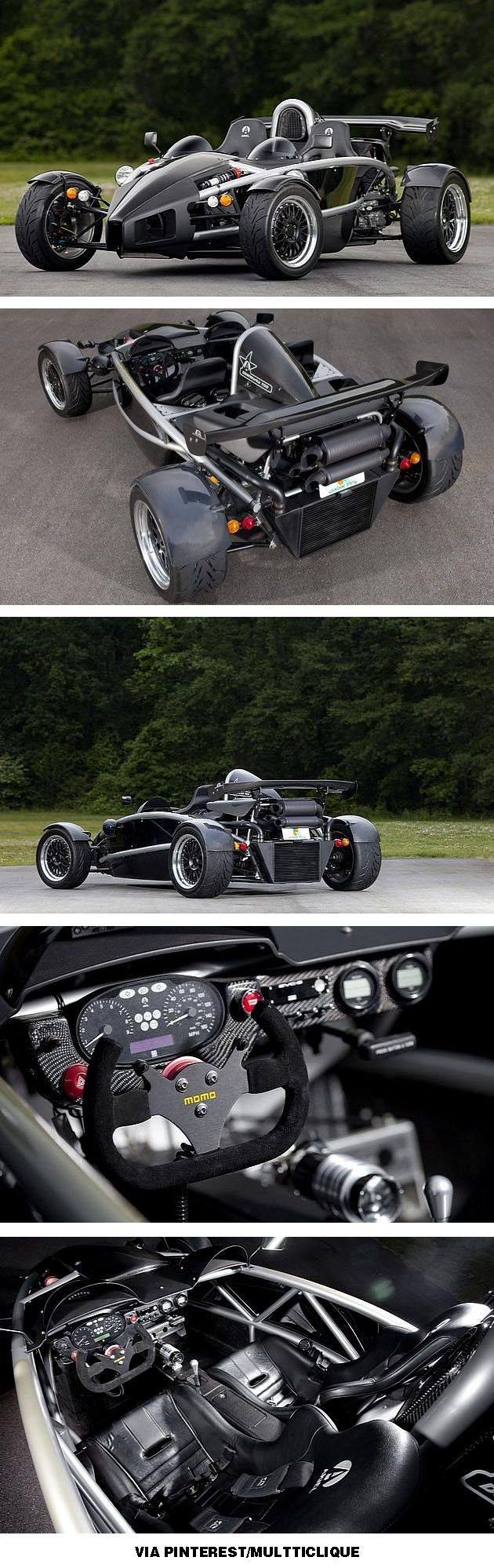 Ariel Atom is street legal.  Don't believe the $200K sticker price; they are available for only $40-60K. (sigh)