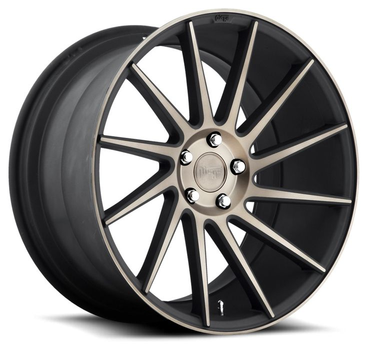 "Niche Surge Directional Spoke, 20"" & 22"", Matte Black"