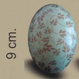 Categoría: Moldes Plasticos - Producto: Molde Huevo Pascua Con Transfer Nº  9 Hojas Bronce - Envase: Bolsa - Presentación: X    4 Unid. - Marca: Lodiser