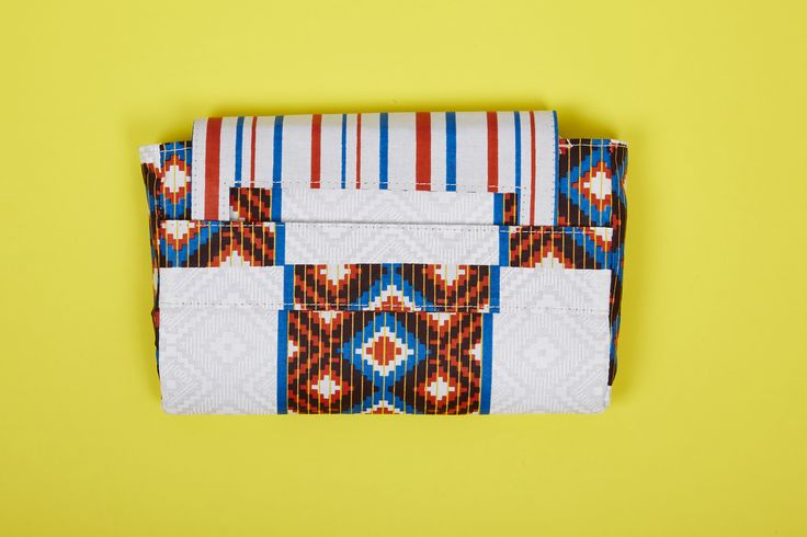 Ankara Print Clutch, add some color to your outfit