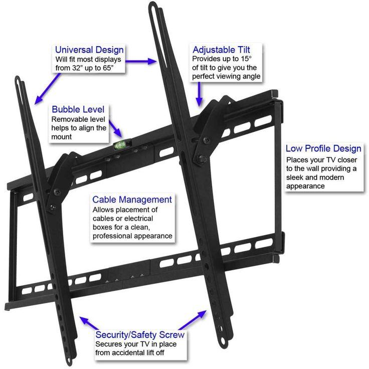 32 inch Cheetah Flat Screen TV Wall Mount Bracket for 65 inch LCD TV