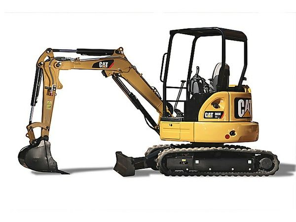 caterpillar 303 cr mini hydraulic excavator - operation and maintenance  manual