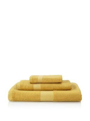 68% OFF Nine Space Towel Set (Yellow)