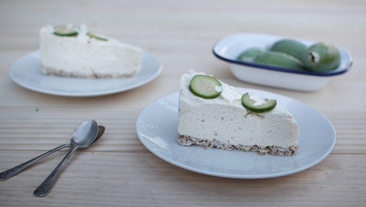 Feijoa+Cheesecake+(a+healthier+version)