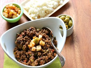 The most humble dish of the Latin American repertoire, picadillo is made in many different Hispanic countries each with its own regional variations. (Photo/Betty Cortina)