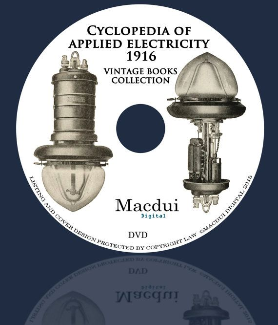 Cyclopedia of Applied Electricity 1916  Vintage by MacduiDigital