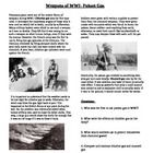 This worksheet gives a brief description of how poison gases were made, used, and their effects of soldiers during WWI. This includes both chlorine...
