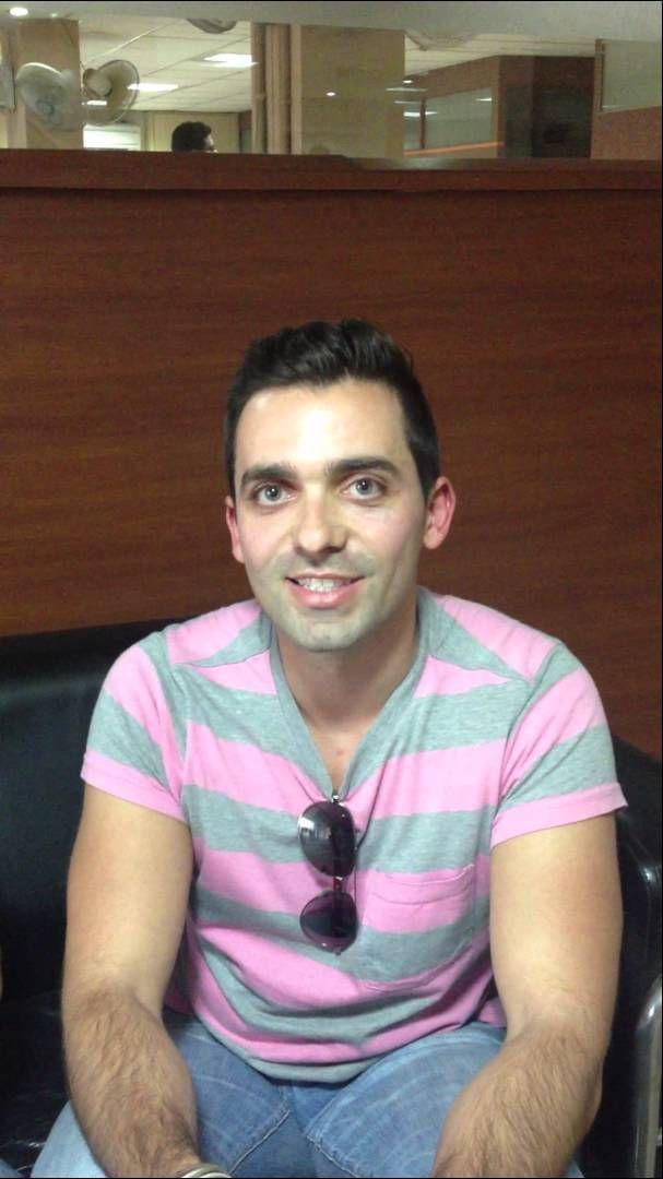 Antonis Karanikolas from Greece