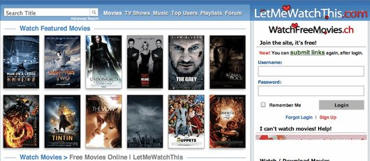 Top ten sites to watch movies online for free without downloading! Perfect for a sleepover!