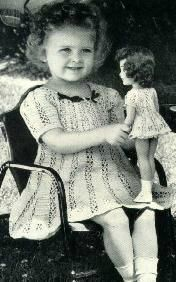 Винтажные детские фотографии с куклами 20-60-х годов 20 века / Интересное, антикварные куклы / Бэйбики. Куклы фото. Одежда для кукол