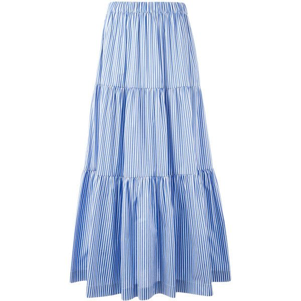 25  best ideas about Blue maxi skirts on Pinterest | Long skirt ...
