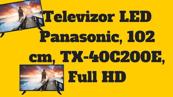 Televizor LED Panasonic TX-40C200E - Verifica Pretul La Panasonic TX-40C...