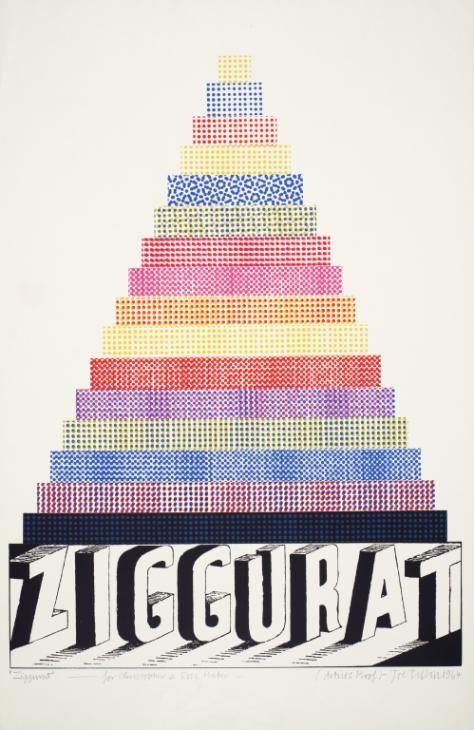 Joe Tilson 'Ziggurat', 1964 © Joe Tilson. All Rights Reserved, DACS 2016