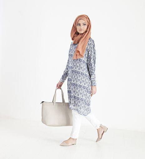 blue regal batwing midi dress