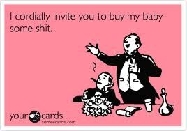 funny baby shower invitations - Google Search